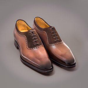 Richelieu James Altan Bottier, chaussure pour hommes,