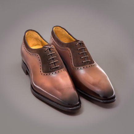 Richelieu James Altan Bottier, chaussure pour hommes, berluti