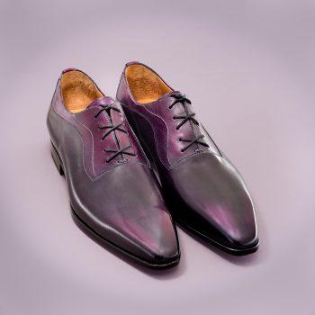 richelieu altan bottier, chaussure pour hommes, patine,