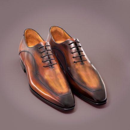 Chaussure Altan Bottier, Richelieu Ayrton, chaussure à patiner