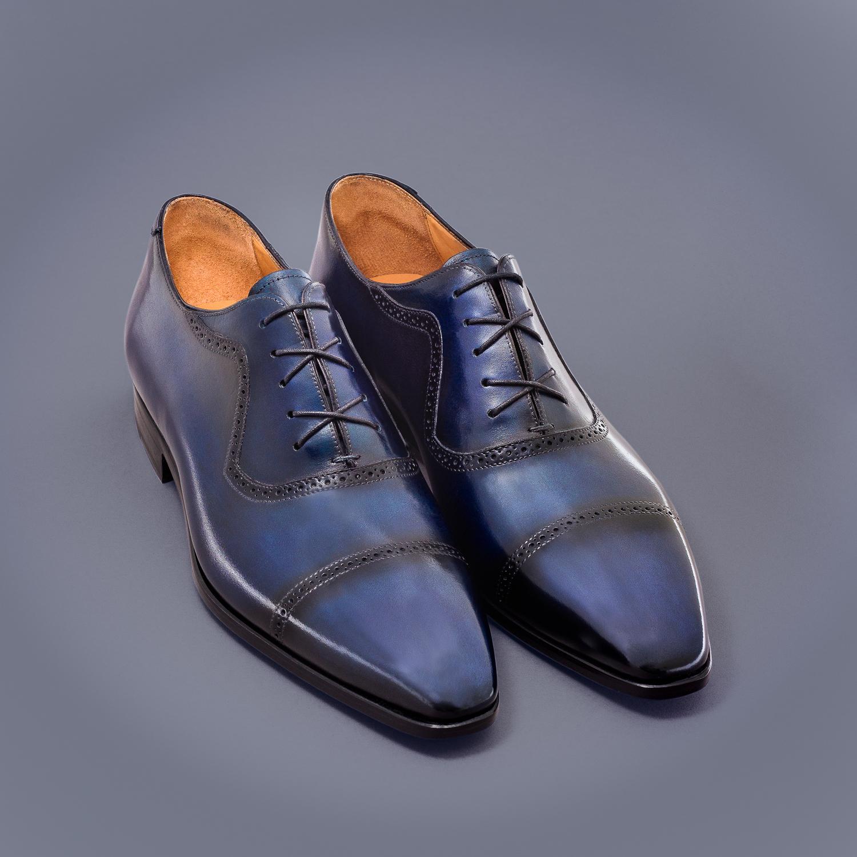 Chaussure Altan Bottier, modèle Richelieu Pierrot, chaussure à patiner