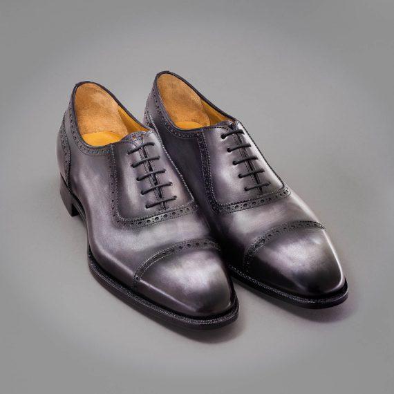 richelieu altan bottier, patine, goodyear, chaussure pour homme, berluti