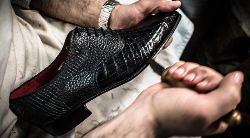 Altan Bottier, sur-mesure, paris, patine, chaussure de luxe pour homme