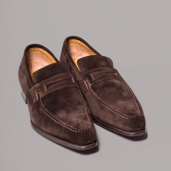 mocassin le lincoln altan bottier, patine, goodyear, chaussure pour homme, berluti