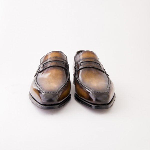 mocassin, le lincoln, altan bottier, savoir faire bottier, fait main, chaussure homme