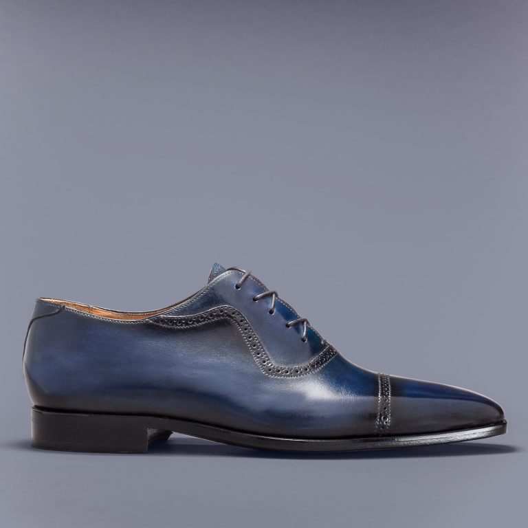 Altan Bottier, oxford shoe, men's shoes, luxury shoes, patina, paris, patinated leather, berluti