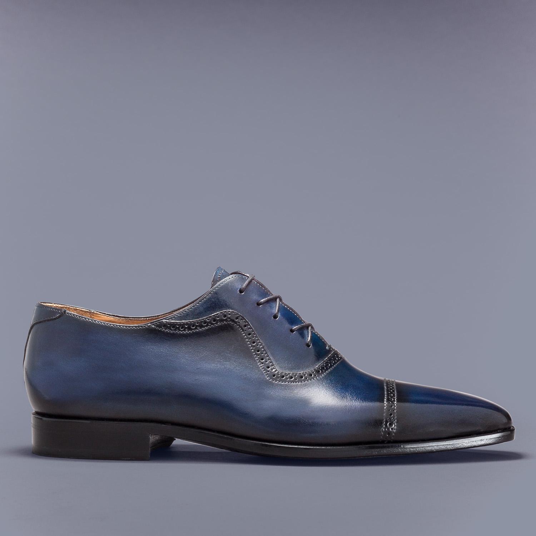 Chaussure Altan Bottier, modèle Richelieu Pierrot, chaussure à patiner, richelieu