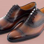 Richelieu Altan Bottier, chaussure homme, blake, patine