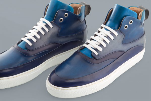 Sneacker Altan Bottier, Zeus, men's shoes, men's sneacker, men's luxury shoes, patinated leather