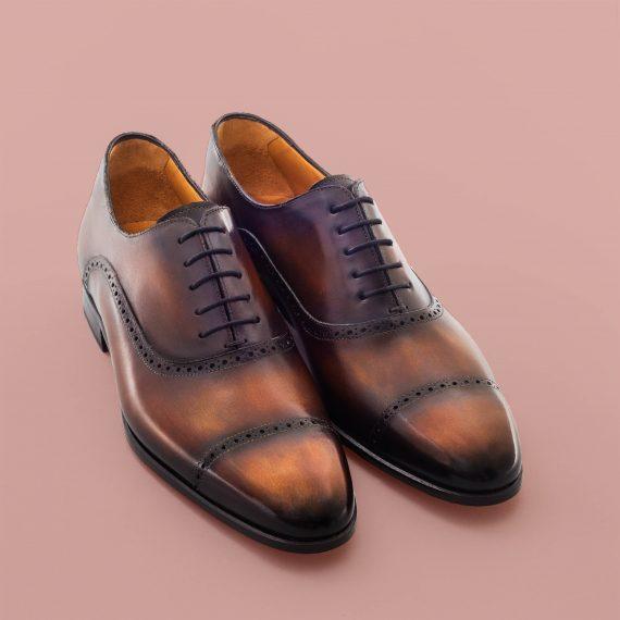 Richelieu Altan Bottier, chaussure homme, blake, patine, berluti