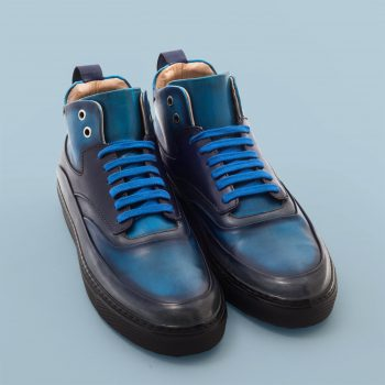 Sneacker Altan Bottier, Zeus, men's shoes, men's sneacker, men's luxury shoes, patinated leather