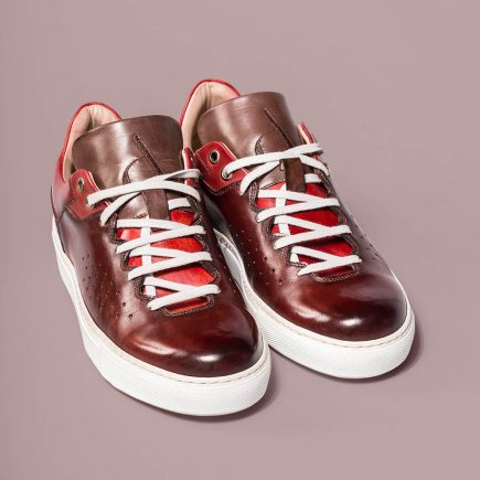 Sneacker Olymp Altan Bottier, casual shoes, sneacker, patinated leather, luxury shoes