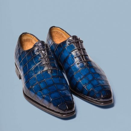 Model The One Cut Alligator, Altan Bottier, men's shoes, dress shoes, luxury shoes