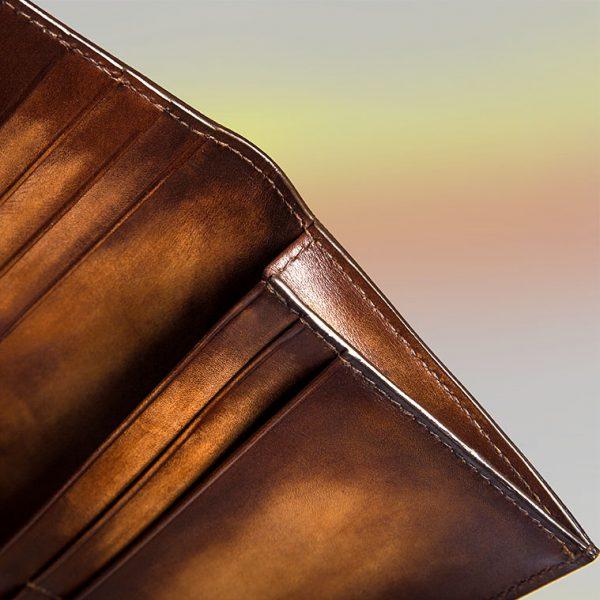 Cronos Wallet Altan Bottier, small leather goods for men
