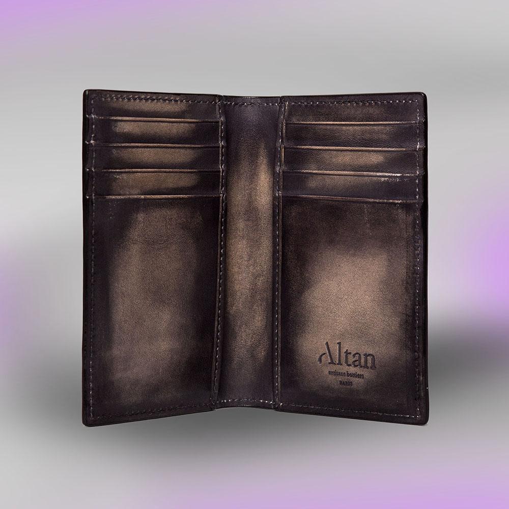 Porte carte Eliot Altan Bottier, maroquinerie pour homme
