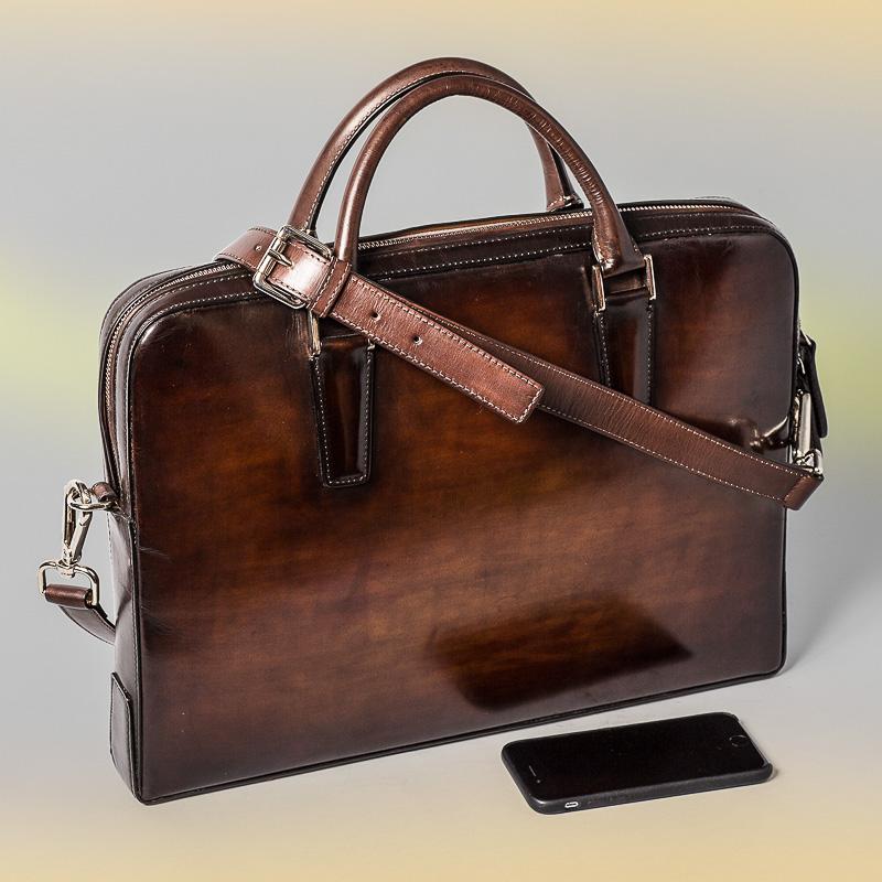 porte-documents altan bottier, patine, sacs business, cartable en cuir, sacoche en cuir, sac homme, maroquinerie homme