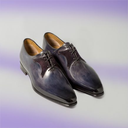 chaussure pour homme, chaussure richelieu, chaussure de mariage, Altan bottier, bottier à paris, patine, chaussures patinées