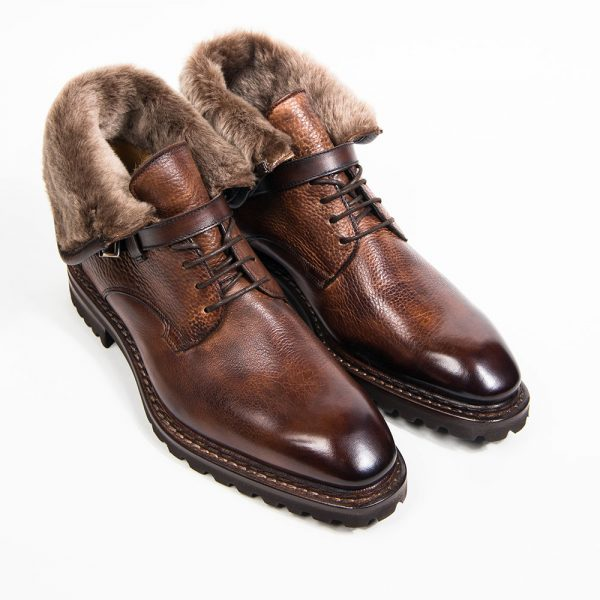 Boots Altan Bottier, Jäger, winter boots, leather men's boots