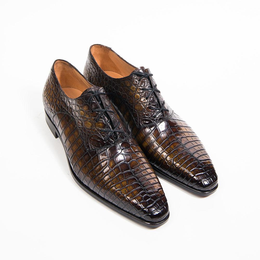 acheter populaire 8de7e f3604 Richelieu à Saddle en Crocodile - Altan Bottier