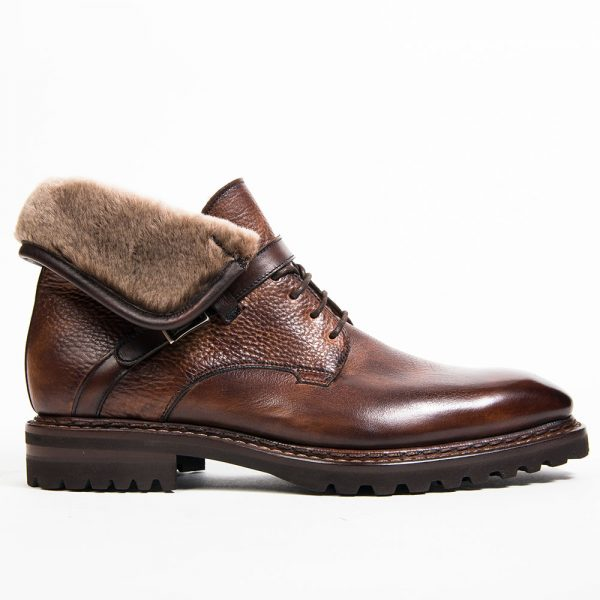 bottine Jäger, altan bottier, chaussure homme, bottine homme, patine sur cuir