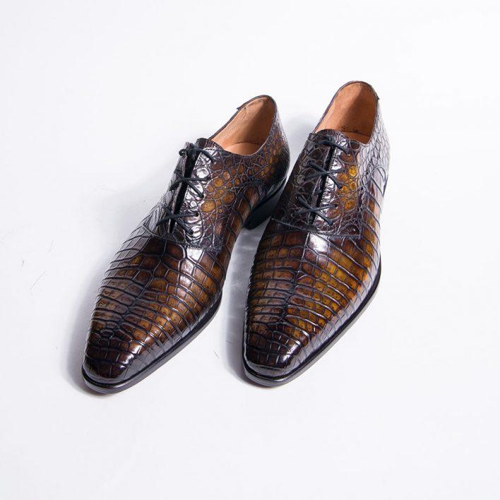 oxford shoe, patinated leather, men's shoes, shoes for men, dress shoe, leather shoe, altan bottier