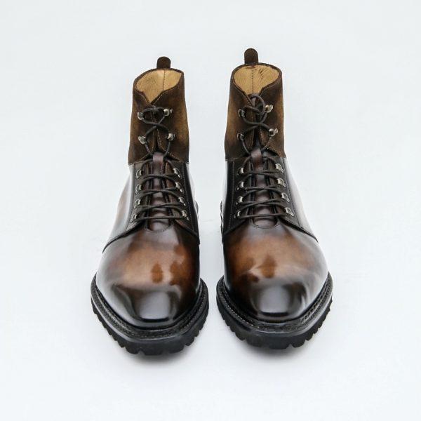 bottine altan bottier, commando boots, bottine homme, men's boots