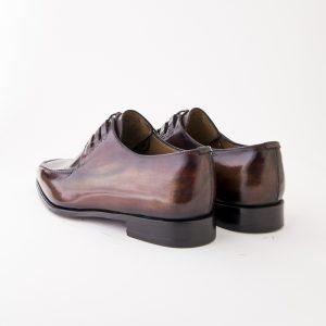 derby, chaussure derby, bottier, altan bottier, patine,