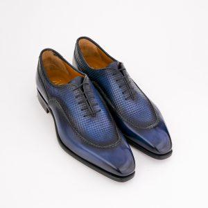 chaussure richelieu, altan bottier, patine