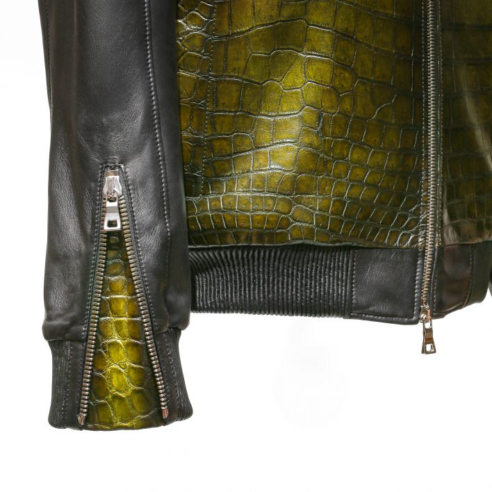 Vestes en crocodile Altan Bottier